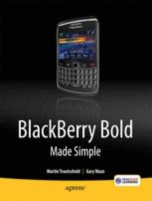 BlackBerry Bold Made Simple