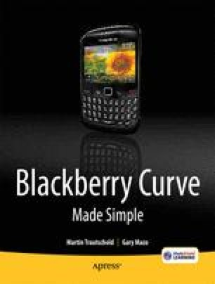 BlackBerry Curve Made Simple