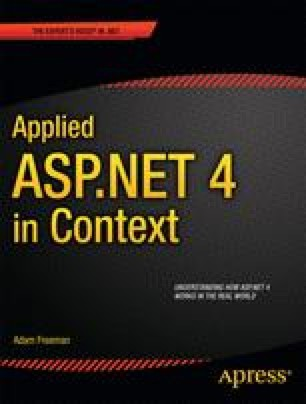 Applied ASP .NET 4 in Context