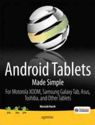 Android Tablets Made Simple