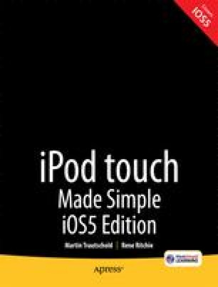 iPod touch Made Simple iOS 5 Edition