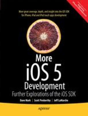 More iOS6 Development