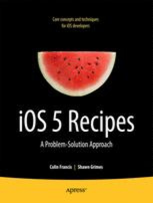 iOS 5 Recipes