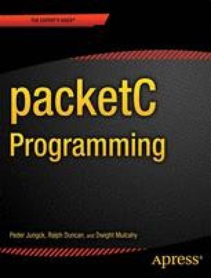 packetC Programming