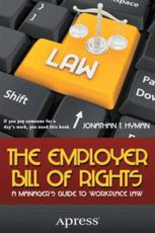 The Employer Bill of Rights