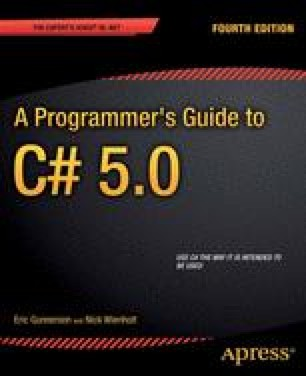 A Programmer's Guide to C# 5.0