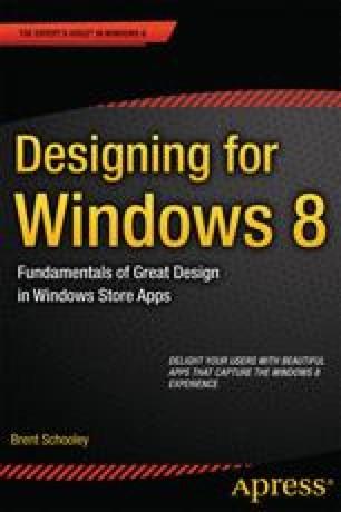 Designing for Windows 8