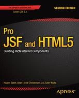 JSF Component Libraries | SpringerLink
