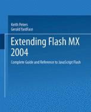 Extending Macromedia Flash MX 2004