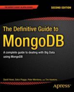 The Definitive Guide to MongoDB