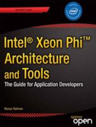 Intel® Xeon Phi™ Coprocessor Architecture and Tools