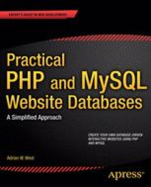 Practical PHP and MySQL Web Site Databases
