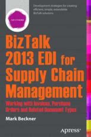BizTalk 2013 EDI for Supply Chain Management