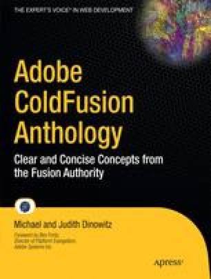 Adobe ColdFusion Anthology