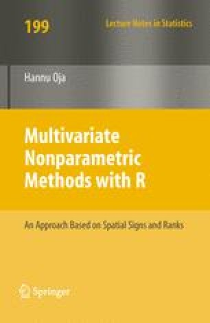 Multivariate Nonparametric Methods with R