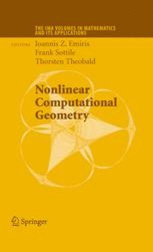 Nonlinear Computational Geometry
