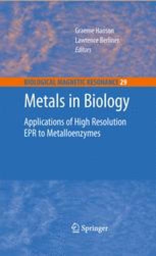 Metals in Biology