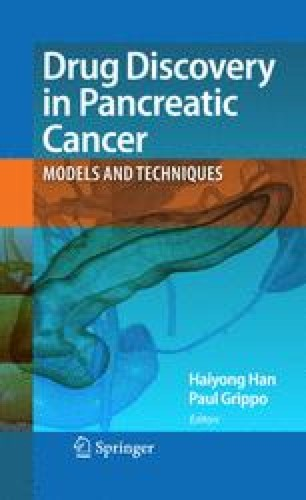 Drug Discovery in Pancreatic Cancer