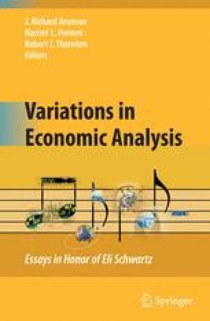 Variations in Economic Analysis
