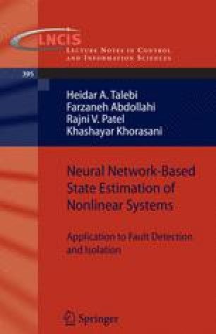 Neural Network-Based State Estimation of Nonlinear Systems