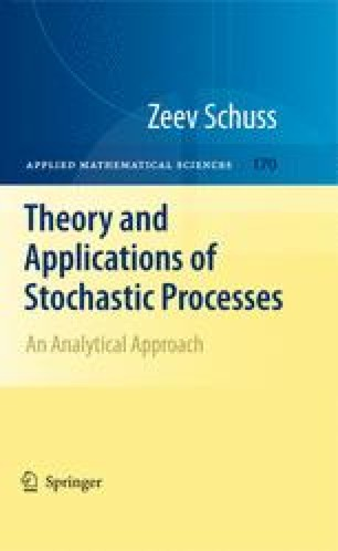 Theory and Applications of Stochastic Processes