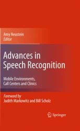 Advances in Speech Recognition