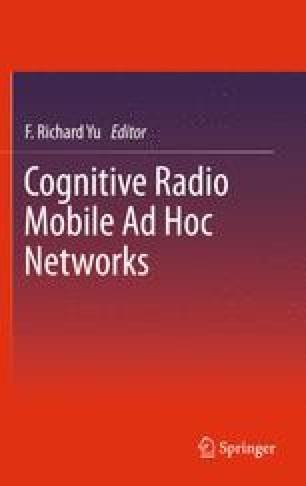 Cognitive Radio Mobile Ad Hoc Networks