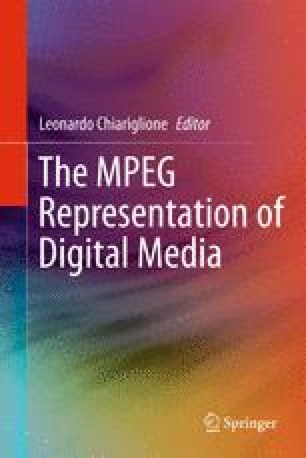 The MPEG Representation of Digital Media