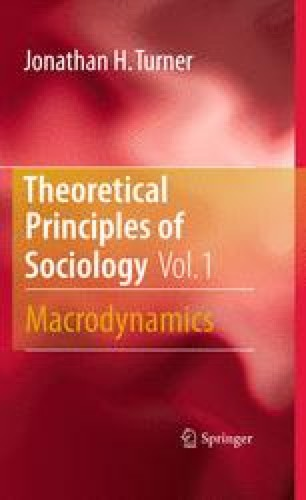 Theoretical Principles of Sociology, Volume 1