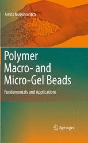 Polymer Macro- and Micro-Gel Beads: Fundamentals and Applications