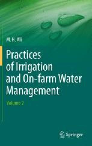 Drainage of Agricultural Lands | SpringerLink