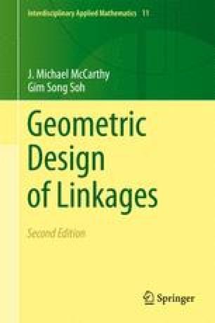 Geometric Design of Linkages