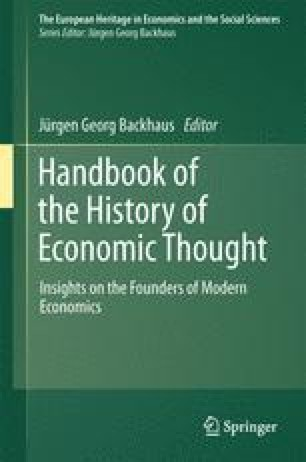 Handbook of the History of Economic Thought