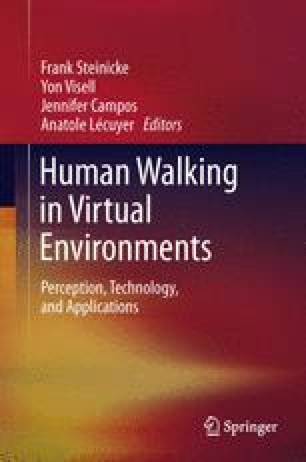 Human Walking in Virtual Environments