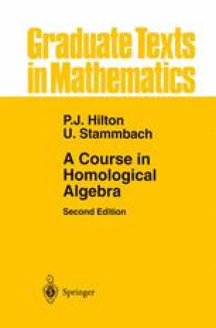 A Course in Homological Algebra