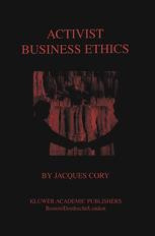 Activist Business Ethics
