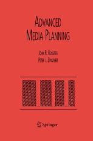 Advanced Media Planning