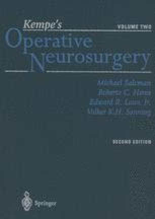 Kempe's Operative Neurosurgery