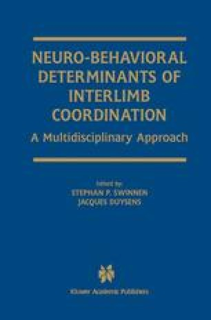Neuro-Behavioral Determinants of Interlimb Coordination