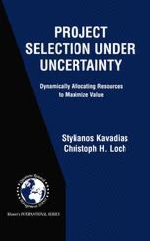 Project Selection Under Uncertainty