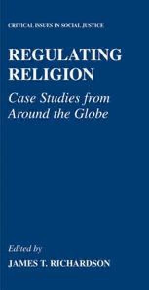 Regulating Religion