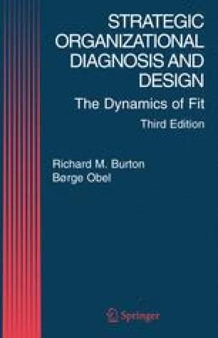 Strategic Organizational Diagnosis and Design