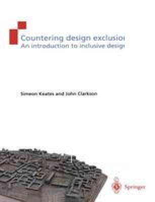 Countering design exclusion