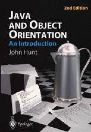 Java and Object Orientation: An Introduction