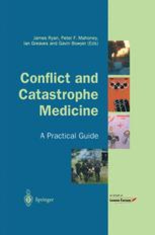 Conflict and Catastrophe Medicine