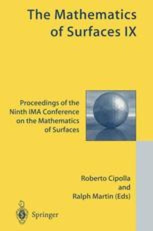 The Mathematics of Surfaces IX