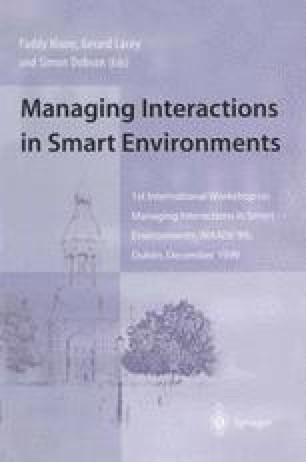 Managing Interactions in Smart Environments