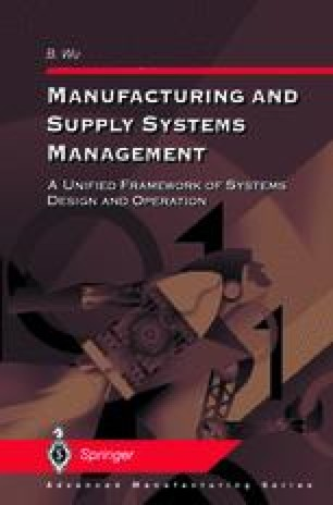 Manufacturing and Supply Systems Management