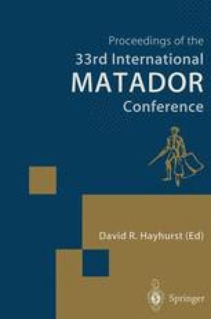 Proceedings of the 33rd International MATADOR Conference