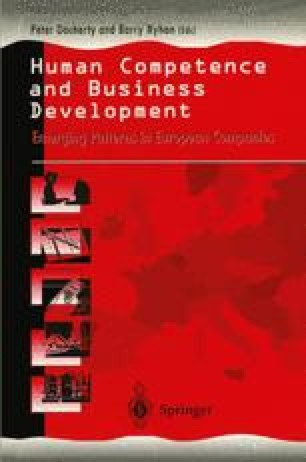 Human Competence and Business Development